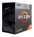 AMD Ryzen 3  Quad Core 3200G Socket AM4 4 Core 4 Threads up to 4.0Ghz