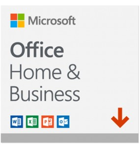 MICROSOFT OFFICE HOME AND BUSINESS 2019 (32/64 BIT) WIN10, MAC, (ESD) ELECTRONIC LICENSE